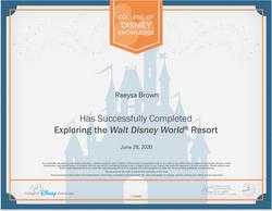 Disney Specialist