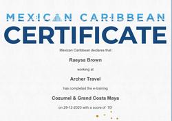 Cozumel & Grand Costa Maya Specialist