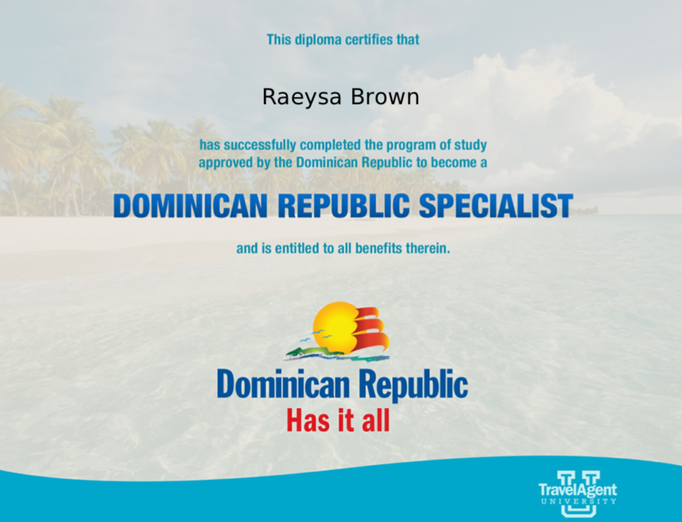 Dominican Republic Specialist