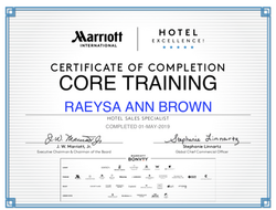 Marriott Hotel Excellence