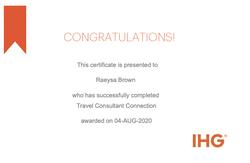 IHG Certified Specialist
