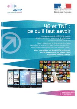 4G ET TNT : Ce qu'il faut savoir...