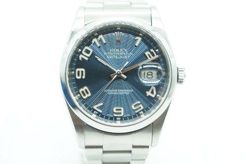 Rolex Datejust Arabic Numerals Blue Dial
