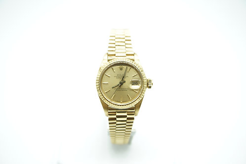 Rolex Lady-Datejust 26mm President Yellow Gold