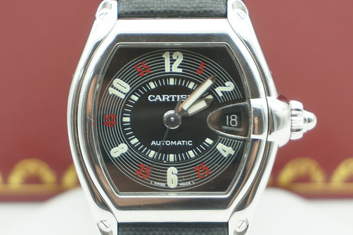 Cartier Roadster Roullette Dial