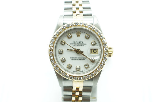 Rolex Datejust 26 Two Tone Diamond Dial & Bezel (Box & Papers)