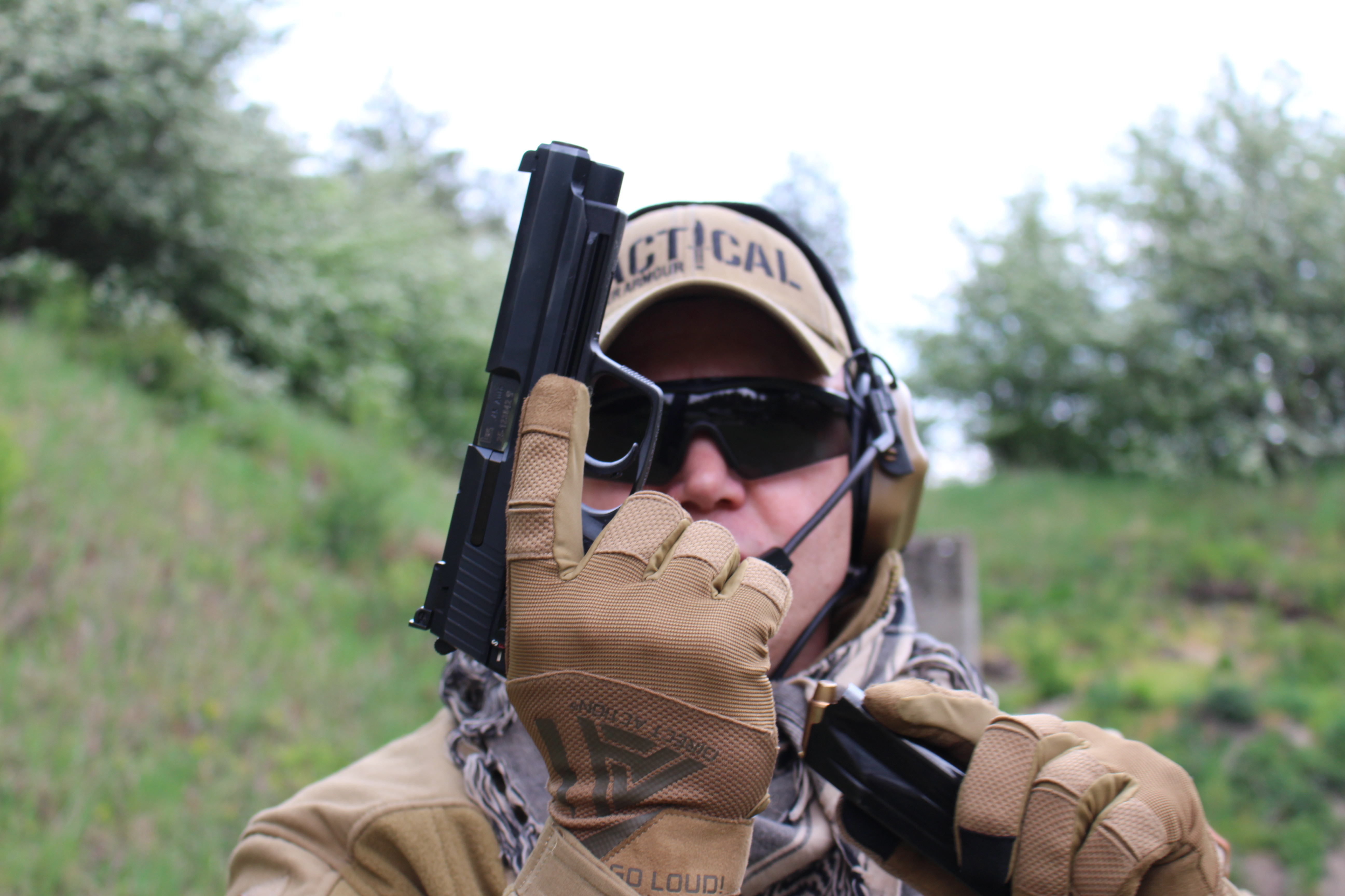 Defense Pistol P1