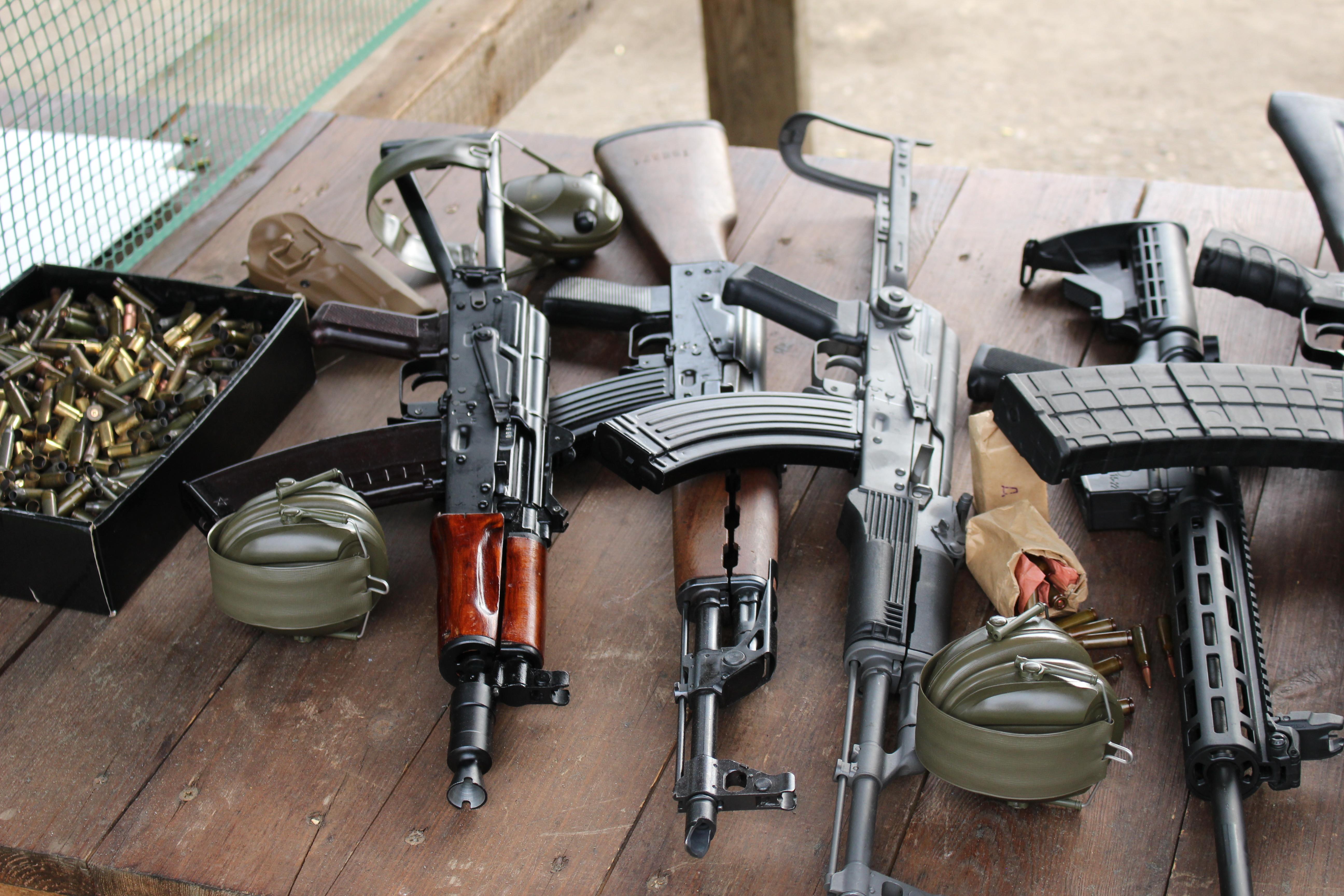 2 Gun combined Pistol / Shotgun