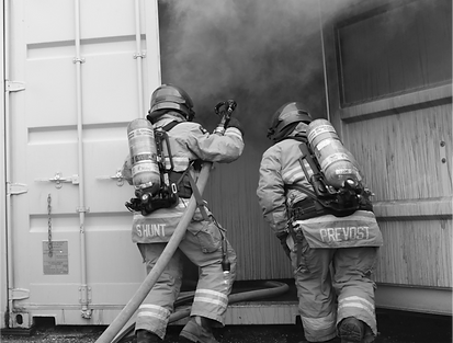 Tactical Fire Training at th OFS Training Site
