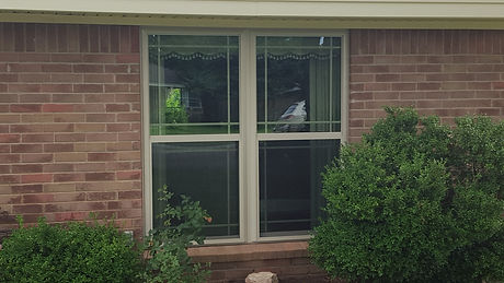 Energy efficient replacemen window
