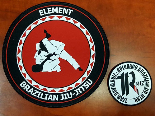 Element BJJ Custom Patches