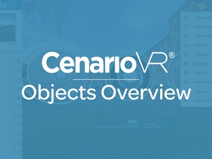 CenarioVR - Objects Overview