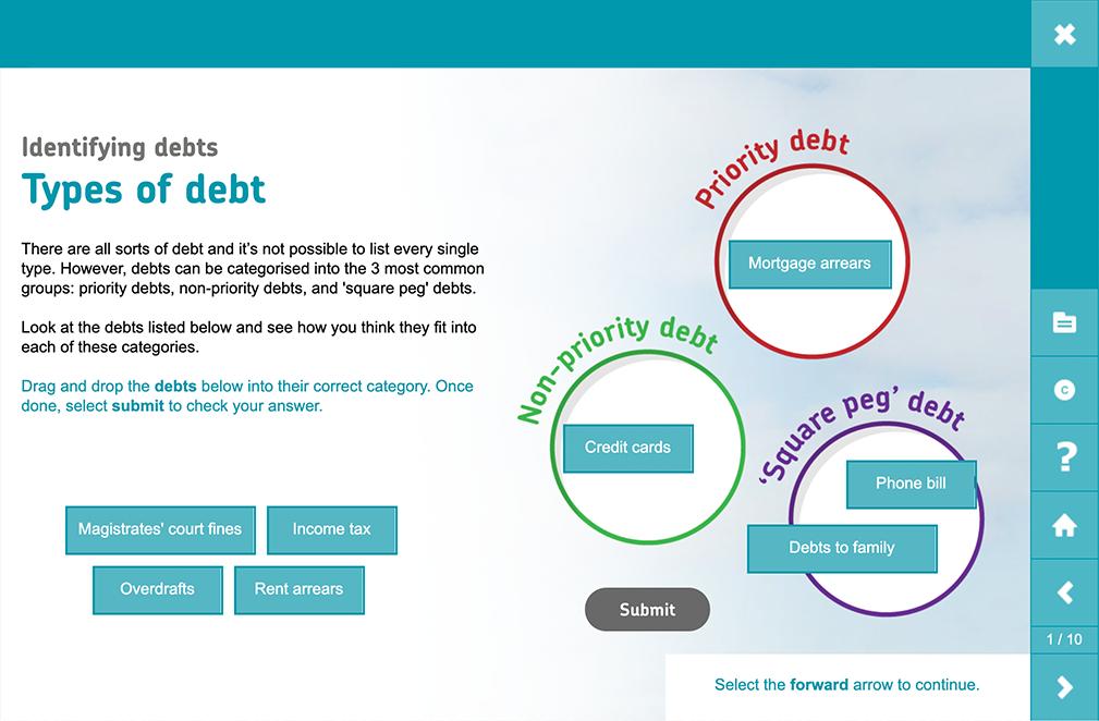 Debt Advice Training Elearning
