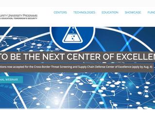 DHS University Programs Site Launch