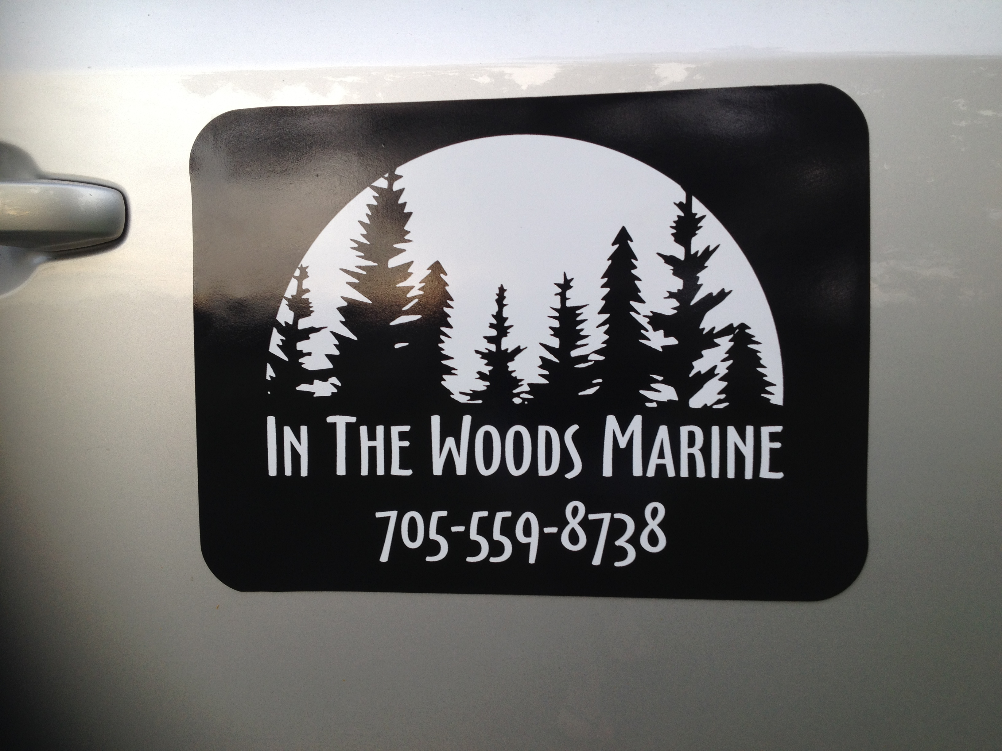 In the Woods Marina Magnet 1