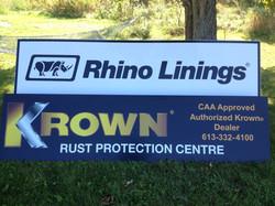 Crownline Rhino and Krown Signs.JPG