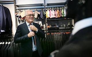 Flemming Heine Jensen i butkken Harder i Aarhus