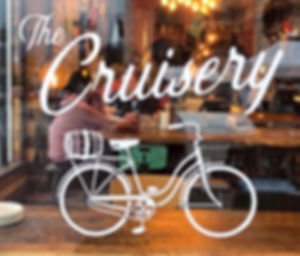 The Cruisery front window