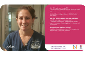 Lauren shares the challenges of Midwifery during a pandemic