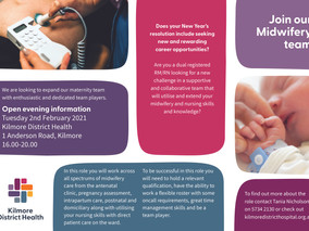 Join our Midwifery Team