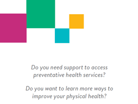 Physical health support for people experiencing mental health conditions