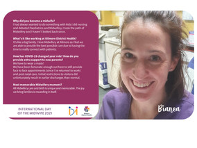 What being a Midwife means to Bianca