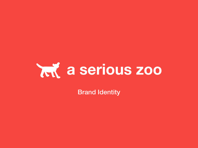 a serious zoo