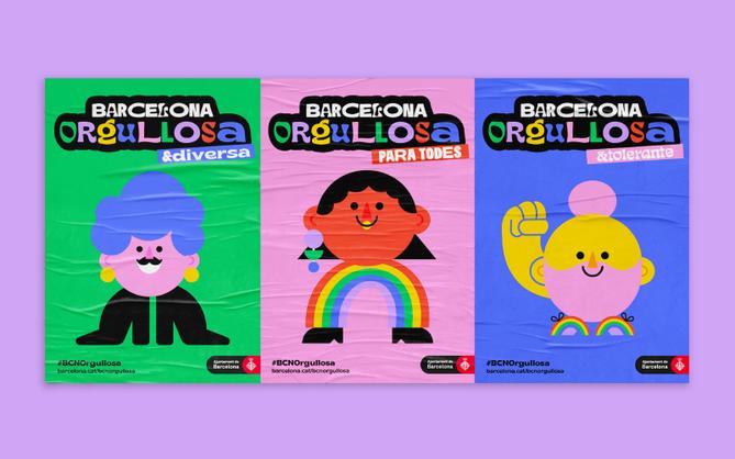 Barcelona Orgullosa Poster