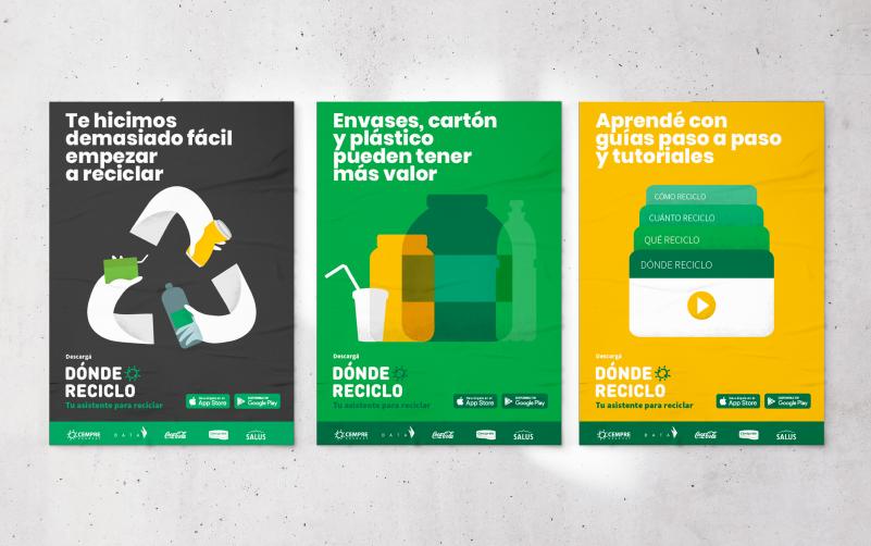 Poster Dónde Reciclo