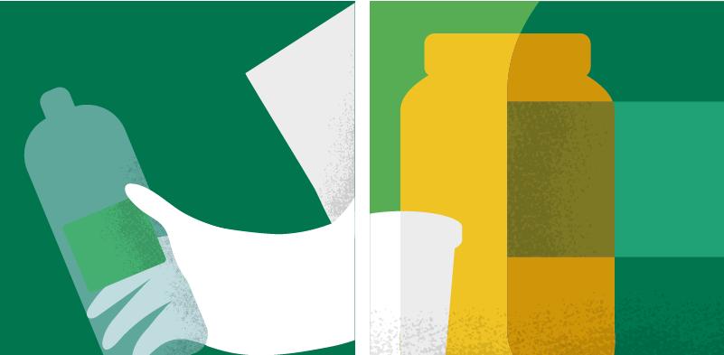 Ilustración Dónde Reciclo