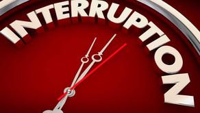 Web Service Interruption