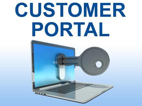 Client Web Portal Service Interruption