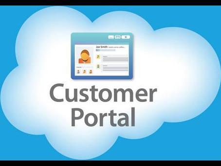 Client Web Portal Restored