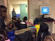 Field Trip to The police Station & Library