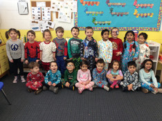 Pajama Day in The Orchard Class