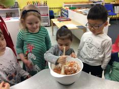 Making Carrot Cupcakes!
