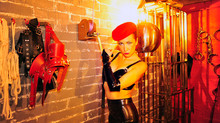 What an an amazing dungeon you can find Mistress Morana at http://www.theserpentrooms.co.uk/