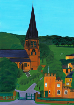 Edensor Chatsworth. ai