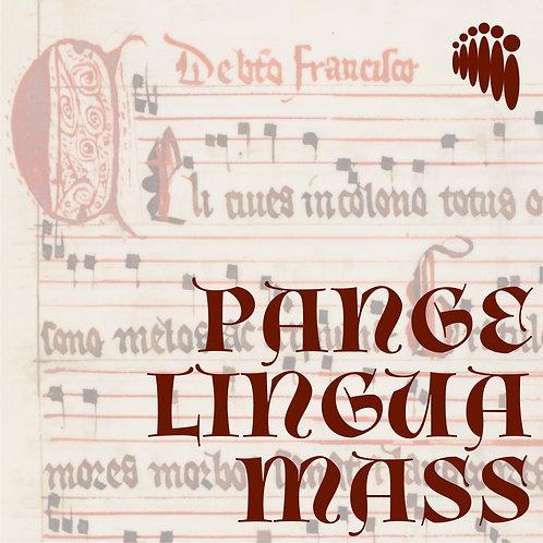 Pange Lingua Mass