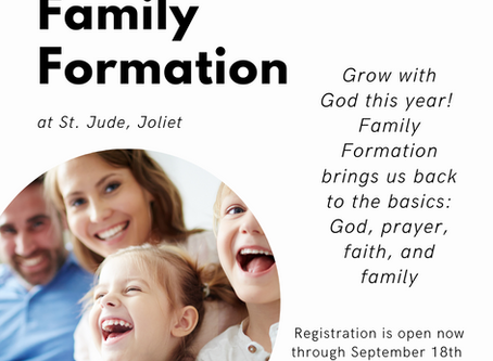 Spread the Word!  Family Formation Program Registration is Open!