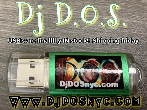Dj Mixes USB ( 10 mixes )