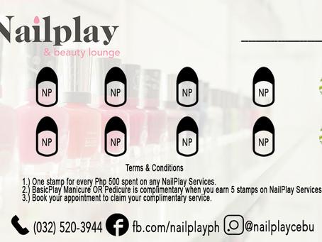 Launching: The NailPlay & Beauty Lounge Loyalty Card