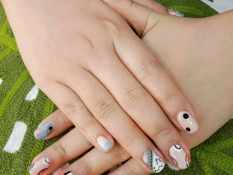 Beautiful NailArt by our skilled nail technicians ❤💅