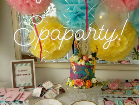 Book your Spa Party with us!