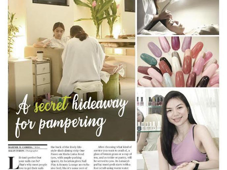 A secret hideaway for pampering