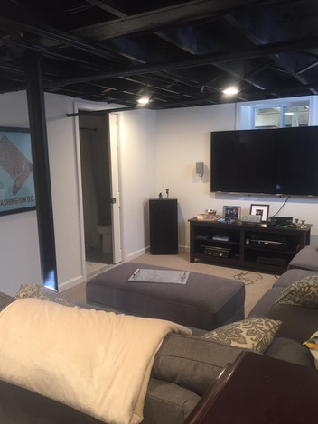Finished Media Room