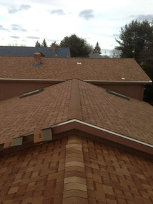 New Roofing - Red/Orange