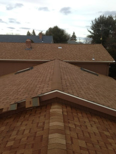 New Roofing - Red/Orange