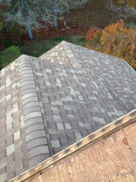 New Roofing - Gray