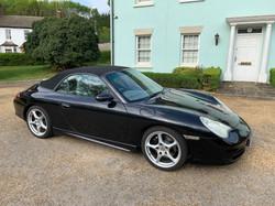 Porsche 911 + CLK55 Cab 046